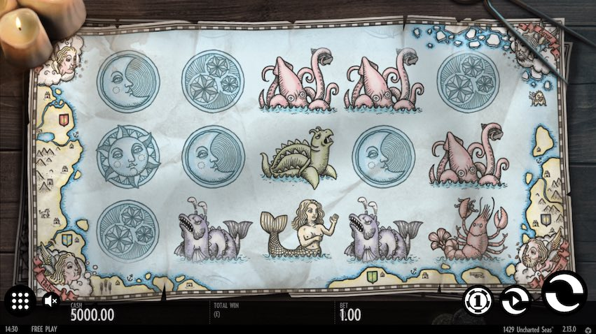 1429 Unchartered Seas Slot Review
