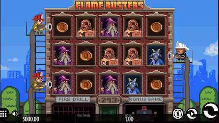 Flame Busters Slot By Thunderkick