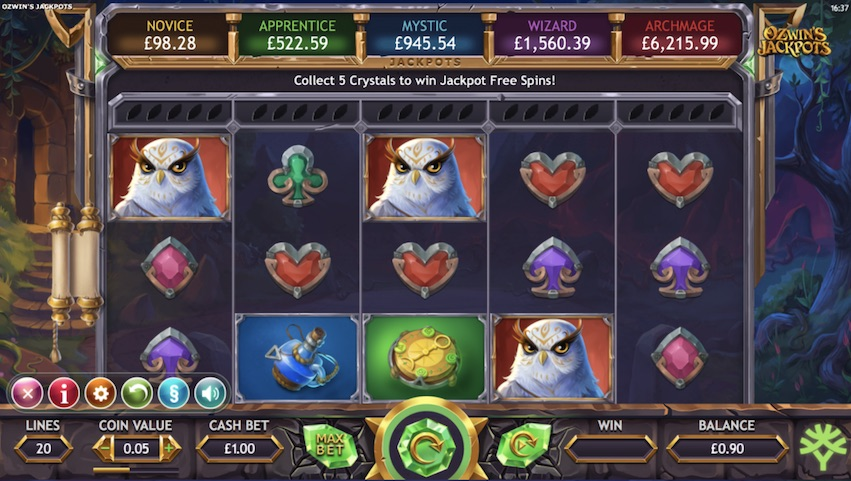 Ozwin's Jackpots Slot Review