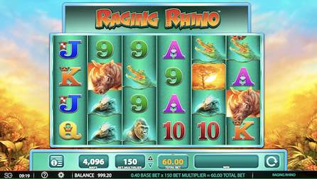 Raging Rhino Slot by WMS