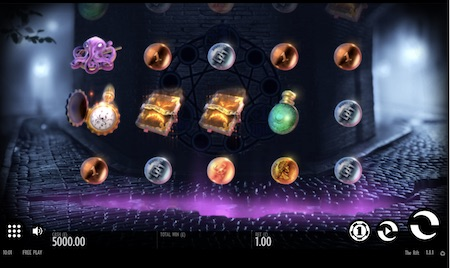 The Rift Slot by Thunderkick Game Screen