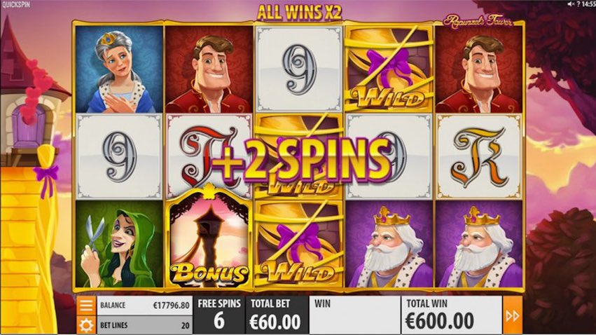 Rapunzel's Tower Slot
