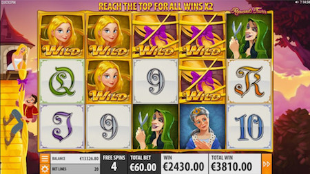Rapunzel's Tower Slot - Quickspin