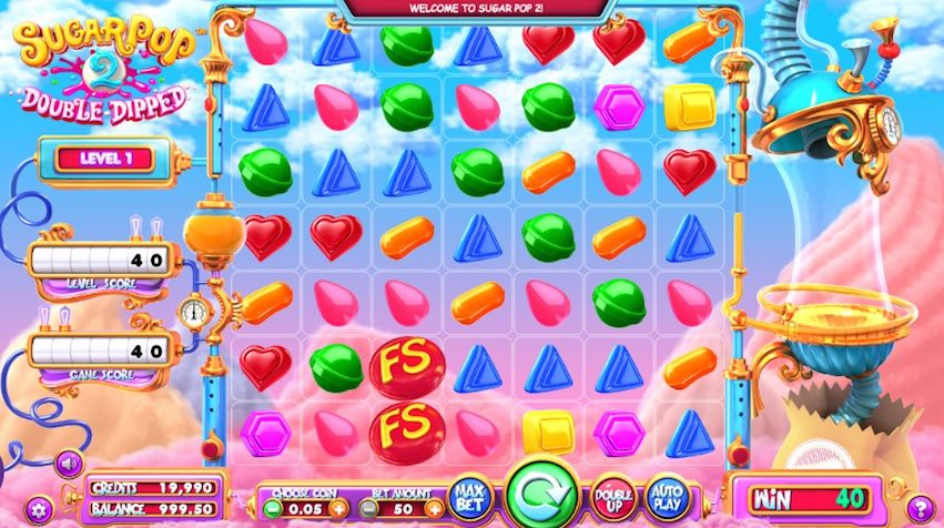 Sugar Pop 2 Double Dipped by Betsoft