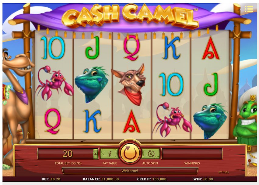 Cash Camel Slot by iSoftBet