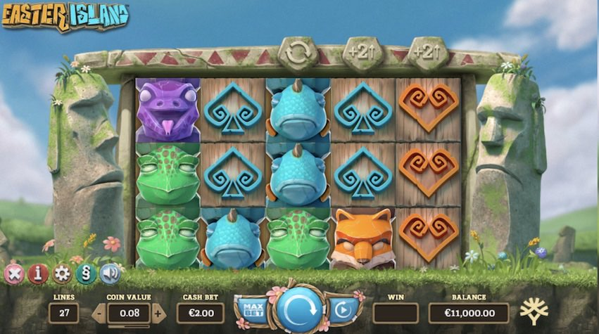 Easter Island Slot Review