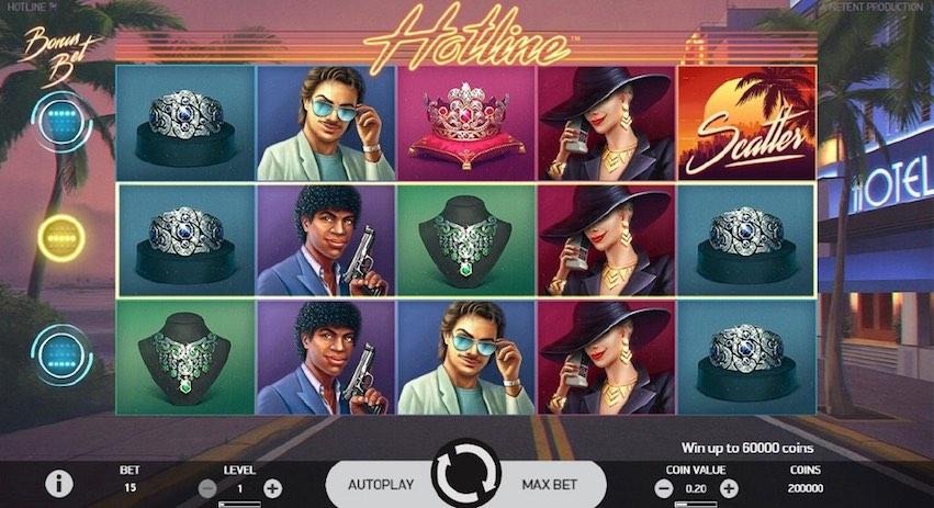 Hotline™ Slot by NetEnt