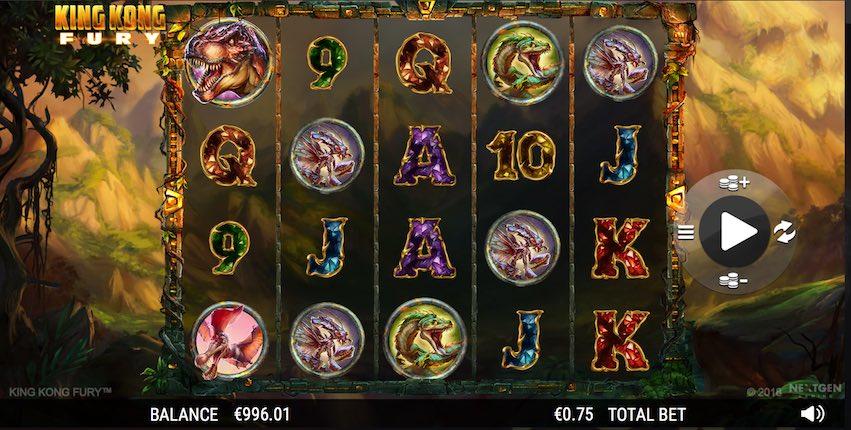 King Kong Fury Slot by NextGen