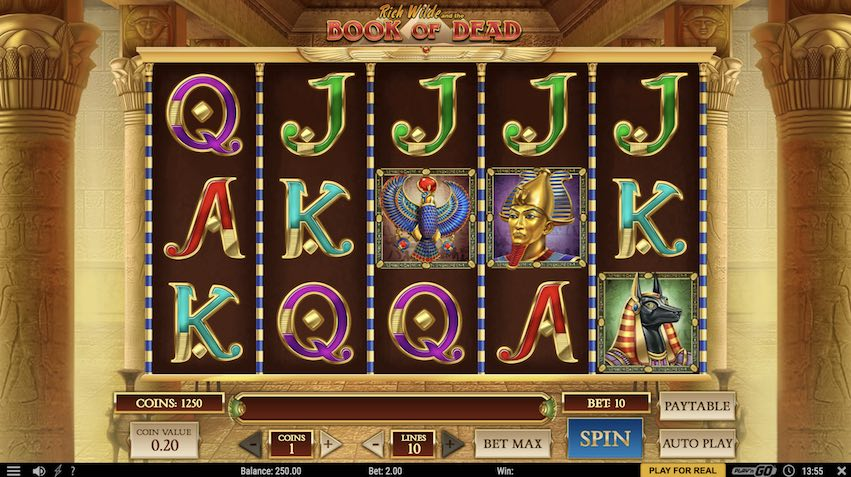 Play n Go - Book of Dead Slot