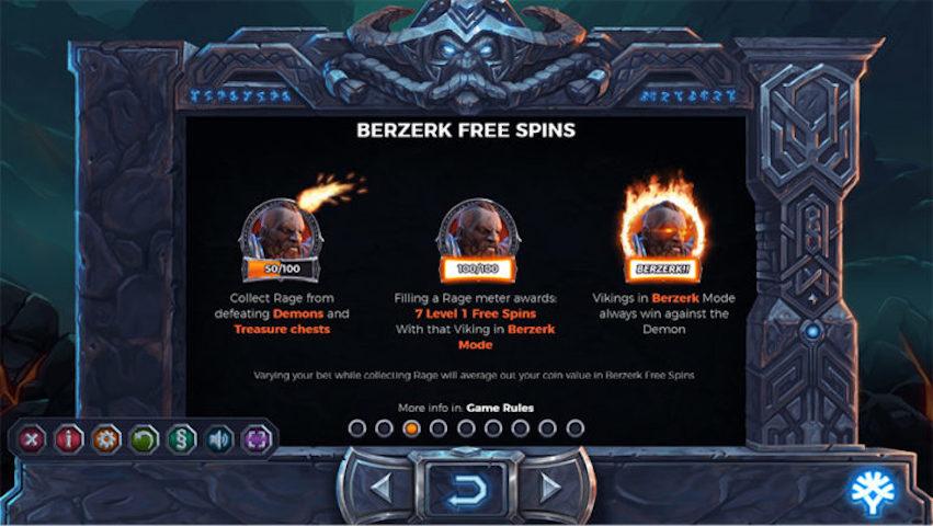 Bezerk Free Spins