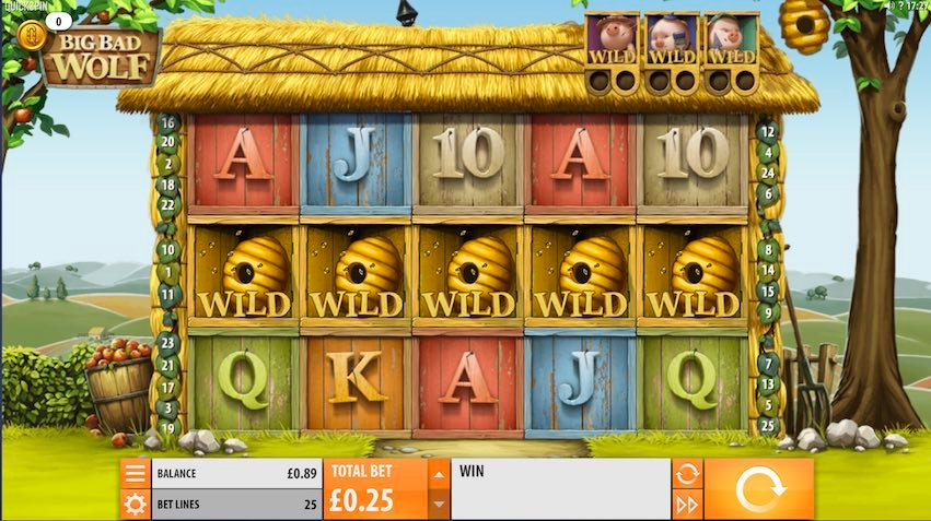 Big Bad Wolf Slot by Quickspin