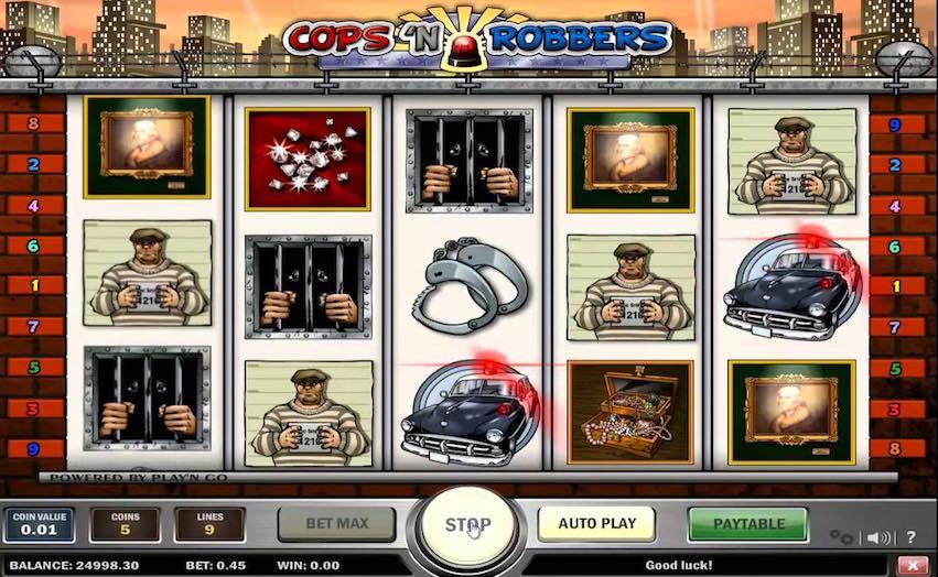Cops n Robbers Slot by Play n Go