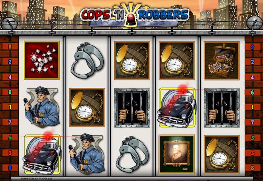 Cops n Robbers Video Slot