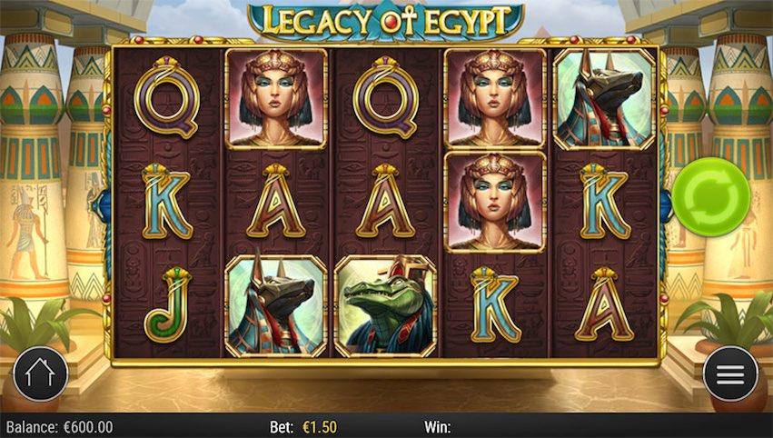 Legacy of Egypt Slot RTP