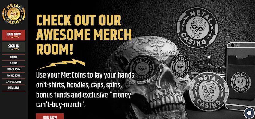 Metal Casino Merch Store