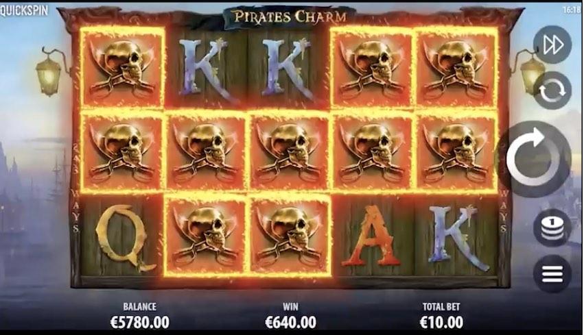 Pirates Charm Slot Win