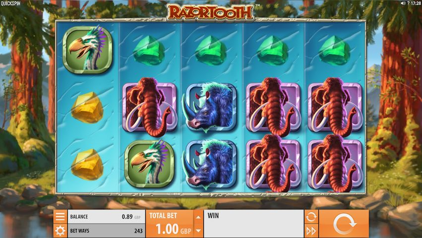 Razortooth Slot By Quickspin
