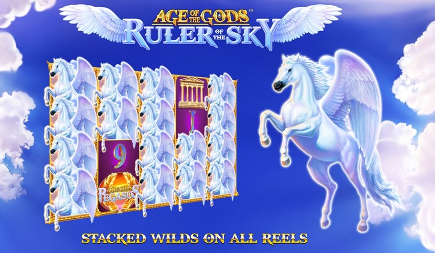 Age of Gods Ruler of the  Sky Slot Review