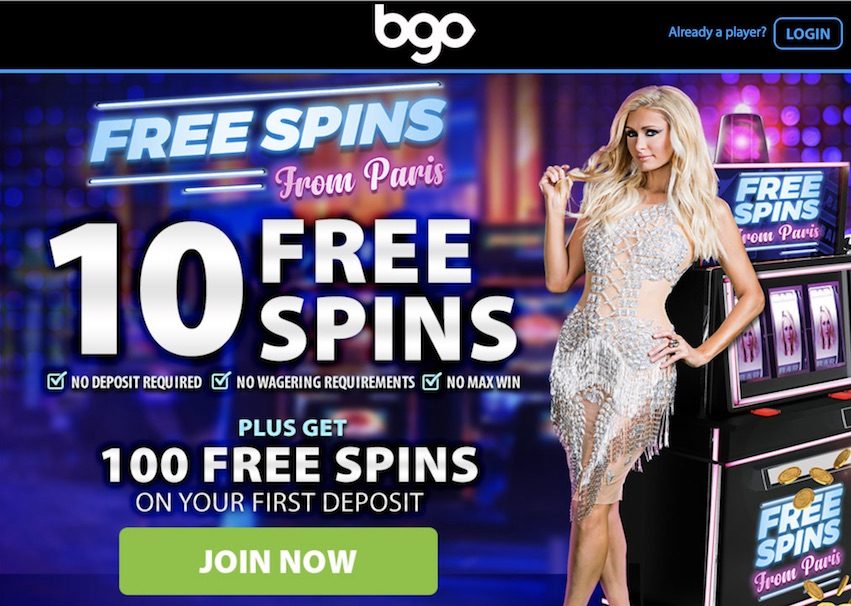 BGO Welcome Offer