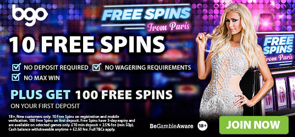 BGO Fair Spins