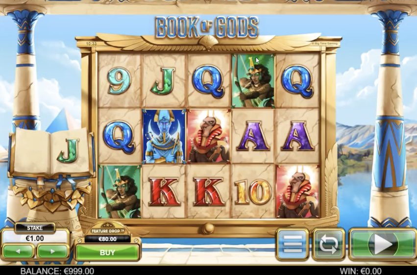 Book of Gods Slot by Big Time Gaming