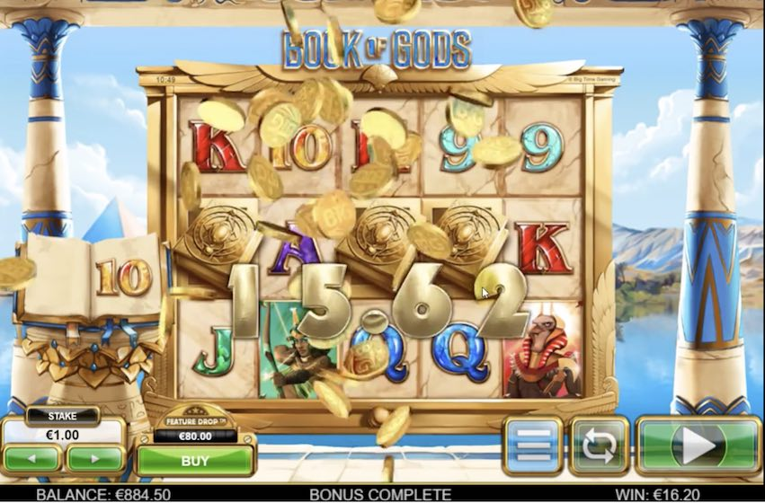 Book of Gods Slot by BTG