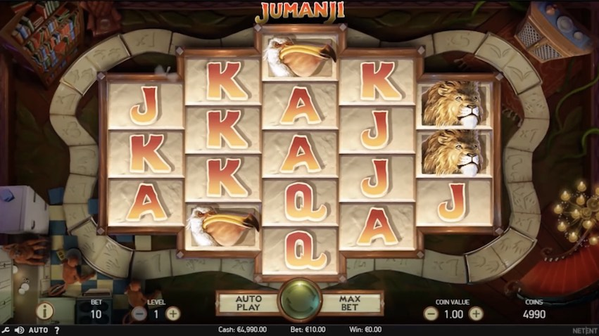 Jumanji™ Slot Game By NetEnt