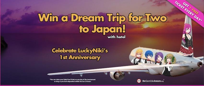 Lucky Niki Trip to Japan Tournament