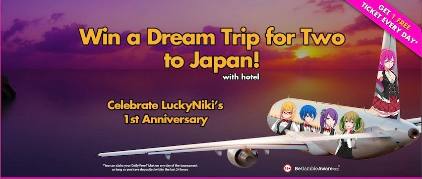 Lucky Niki Trip to Japan Tournament