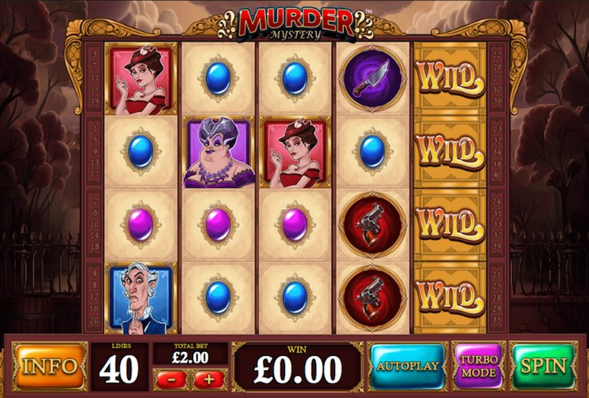 Murder Mystery Slot By Playtech