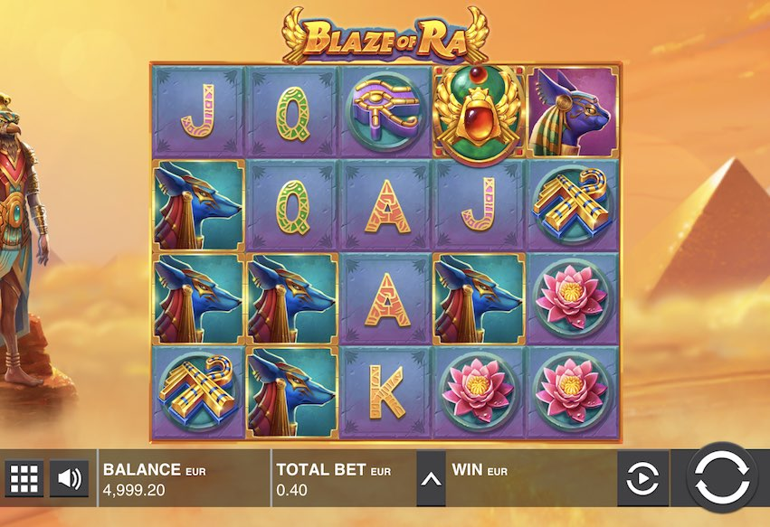 Blaze of Ra Slot Review