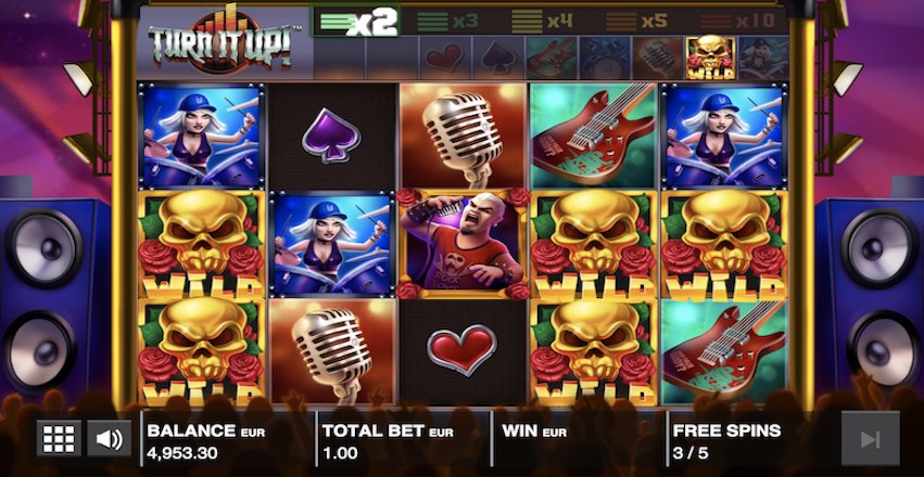 Turn It Up! Slot Review