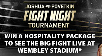 Win Tickets To The Anthony Joshua Fight With BGO