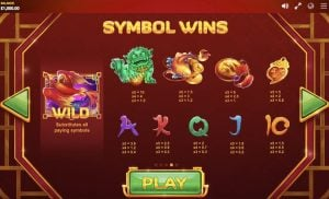 Fortune Charm Slot Paylines