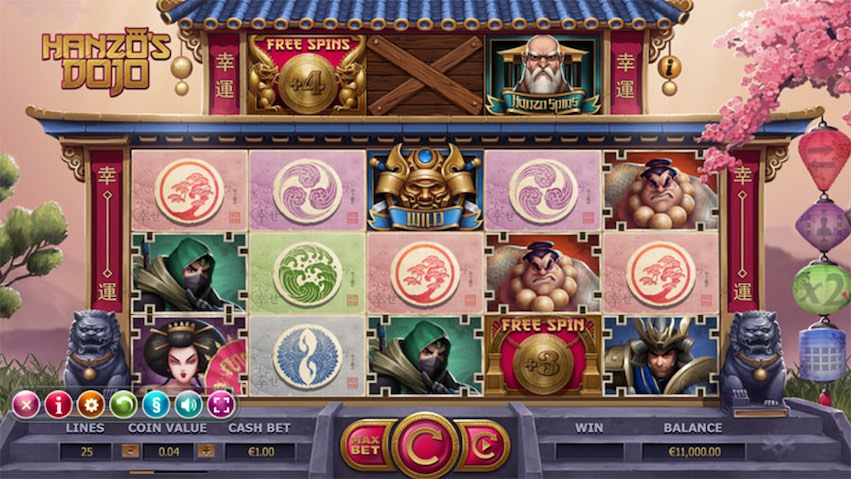 Hanzo's Dojo Slot Review