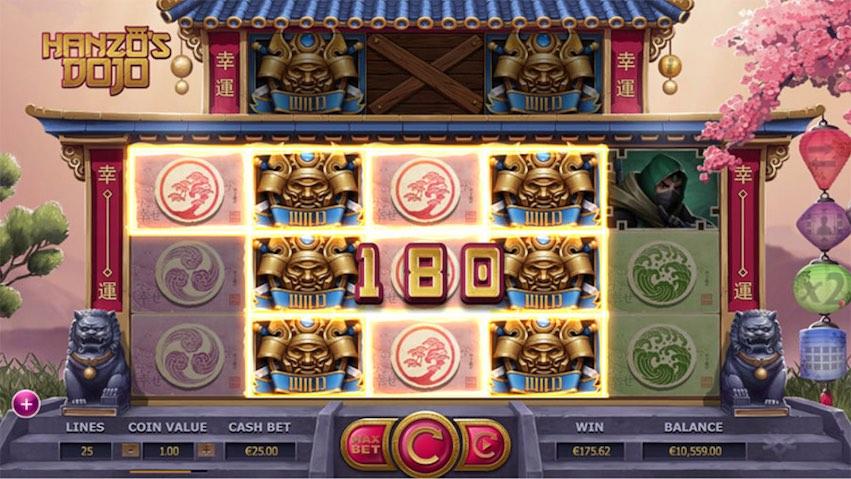 Hanzo's Dojo Slot RTP