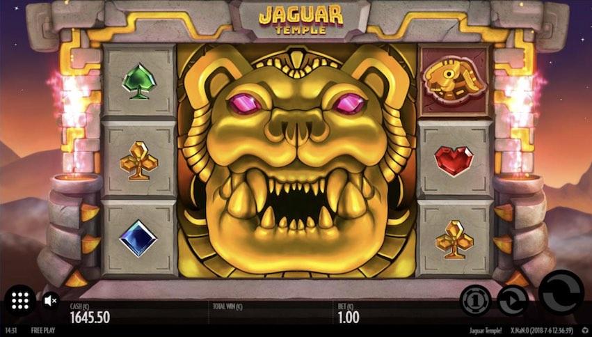 Jaguar Temple Premium Symbol