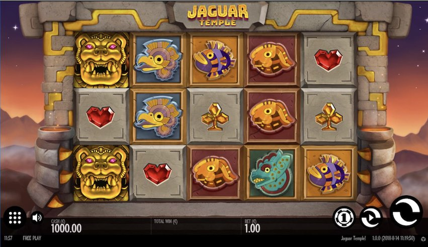 Jaguar Temple Slot Review