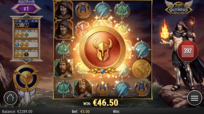Rise of Olympus Slot RTP