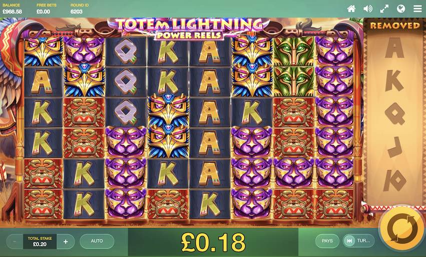 Totem Lightning Power Reels Slot Review