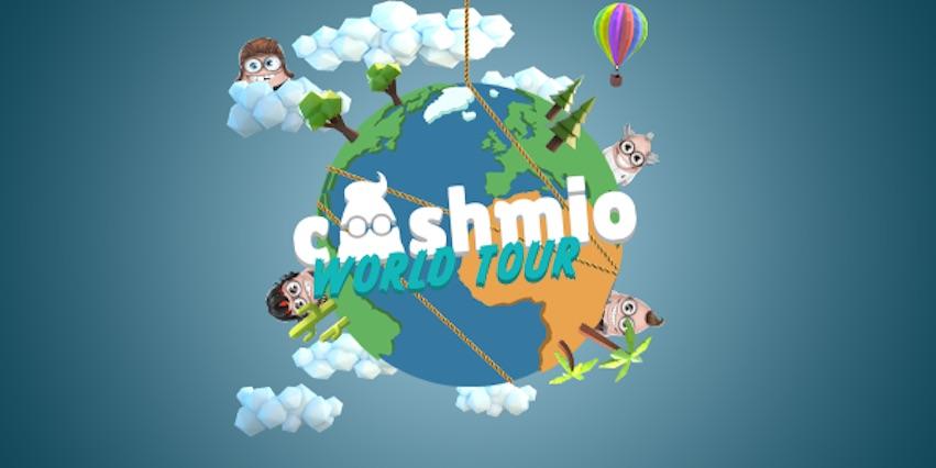 Join the Cashmio World Tour and Win International Flight Cards