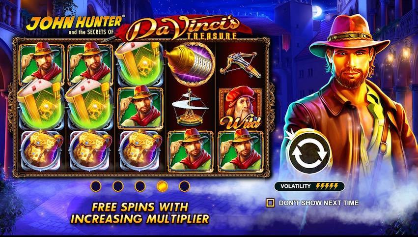 Da Vinci's Treasure Slot RTP