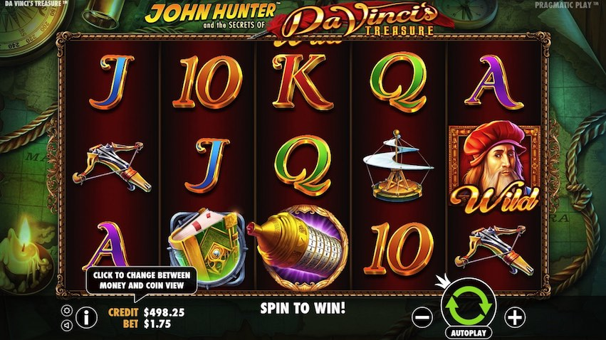 Da Vinci Treasure Slot Review