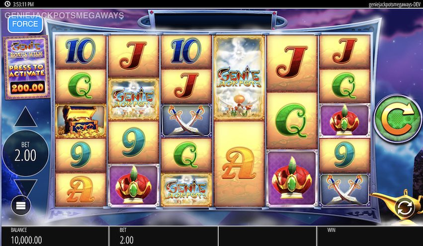 Genie Jackpots Megaways™ Slot RTP
