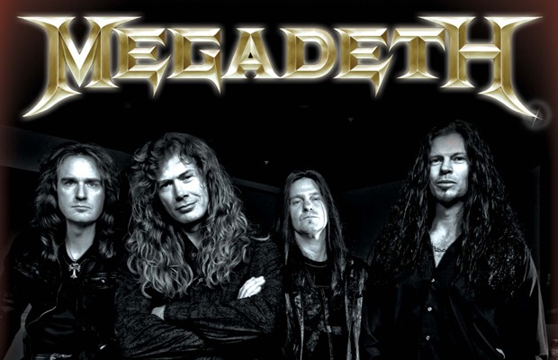 Megadeath Band Picture