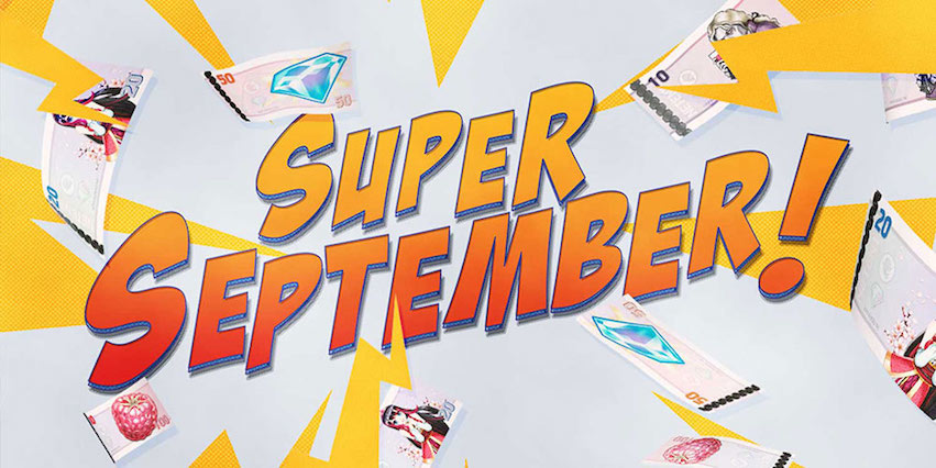Super September Prize Draw at Casino.com