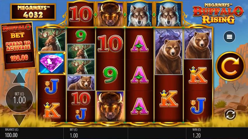 Buffalo Rising Megaways™ Slot RTP
