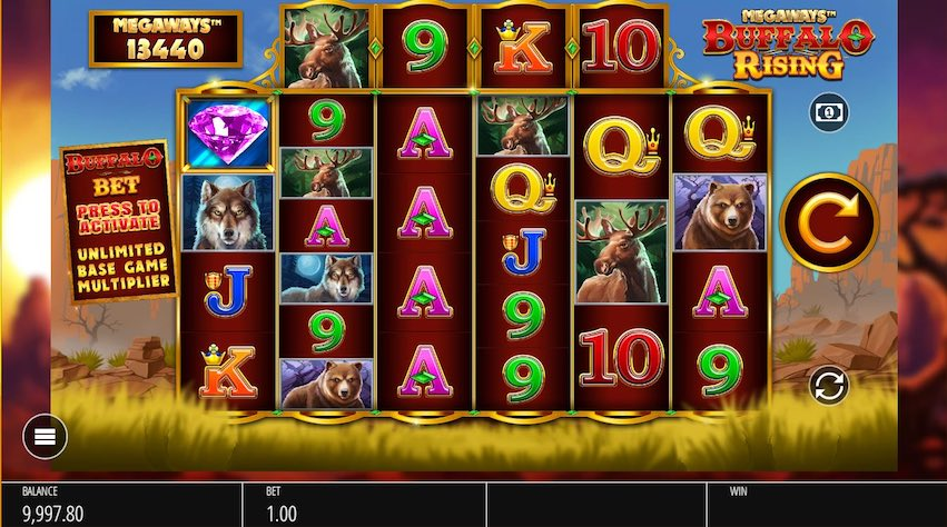 Buffalo Rising Megways™ Slot Review