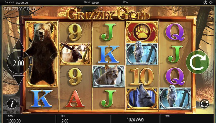 Grizzly Gold Slot Review