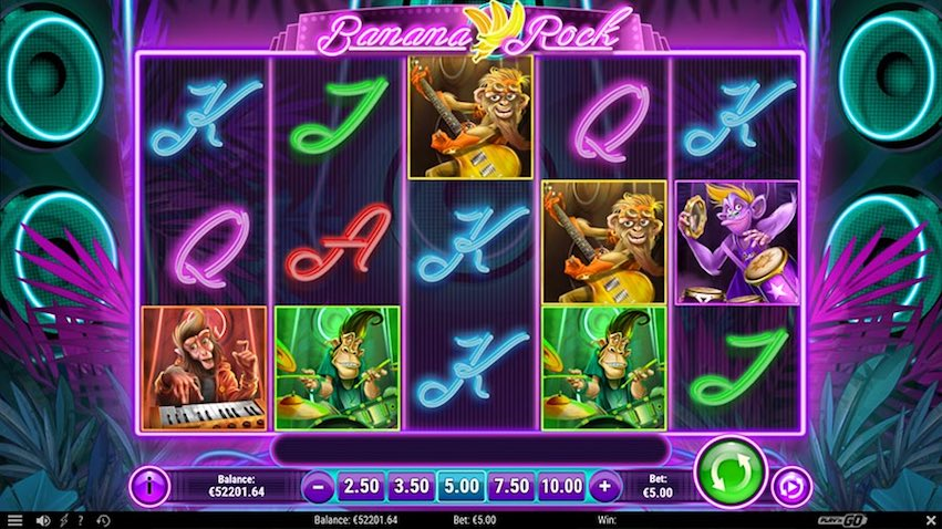 Banana Rock Slot Review